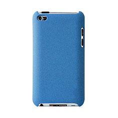 Funda Dura Plastico Rigida Mate para Apple iPod Touch 4 Azul Cielo