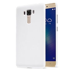 Funda Dura Plastico Rigida Mate para Asus Zenfone 3 Laser Blanco