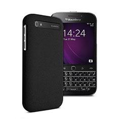 Funda Dura Plastico Rigida Mate para Blackberry Classic Q20 Negro