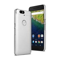 Funda Dura Plastico Rigida Mate para Google Nexus 6P Blanco