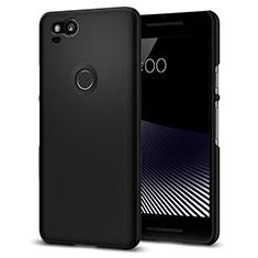 Funda Dura Plastico Rigida Mate para Google Pixel 2 Negro