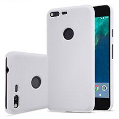 Funda Dura Plastico Rigida Mate para Google Pixel XL Blanco