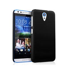 Funda Dura Plastico Rigida Mate para HTC Desire 620 Negro