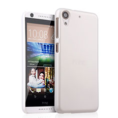 Funda Dura Plastico Rigida Mate para HTC Desire 626 Blanco