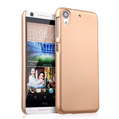 Funda Dura Plastico Rigida Mate para HTC Desire 626 Oro