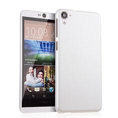 Funda Dura Plastico Rigida Mate para HTC Desire 826 826T 826W Blanco