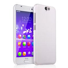 Funda Dura Plastico Rigida Mate para HTC One A9 Blanco