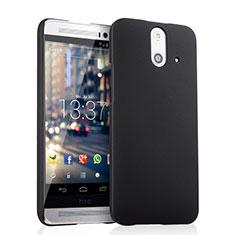Funda Dura Plastico Rigida Mate para HTC One E8 Negro