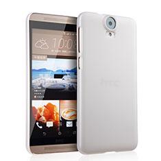Funda Dura Plastico Rigida Mate para HTC One E9 Plus Blanco