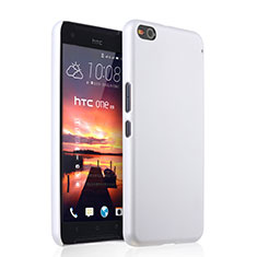 Funda Dura Plastico Rigida Mate para HTC One X9 Blanco