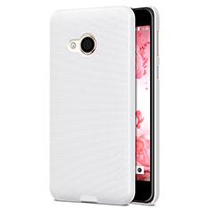Funda Dura Plastico Rigida Mate para HTC U Play Blanco
