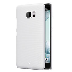 Funda Dura Plastico Rigida Mate para HTC U Ultra Blanco