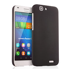 Funda Dura Plastico Rigida Mate para Huawei Ascend G7 Negro