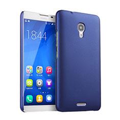 Funda Dura Plastico Rigida Mate para Huawei Ascend Mate 2 Azul