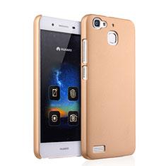 Funda Dura Plastico Rigida Mate para Huawei G8 Mini Oro
