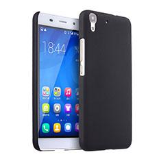 Funda Dura Plastico Rigida Mate para Huawei Honor 4A Negro