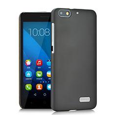 Funda Dura Plastico Rigida Mate para Huawei Honor 4C Gris