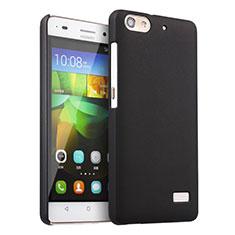 Funda Dura Plastico Rigida Mate para Huawei Honor 4C Negro