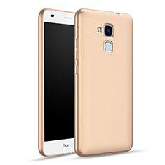 Funda Dura Plastico Rigida Mate para Huawei Honor 5C Oro