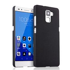 Funda Dura Plastico Rigida Mate para Huawei Honor 7 Dual SIM Negro