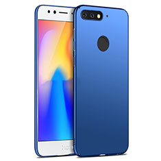 Funda Dura Plastico Rigida Mate para Huawei Honor Play 7A Azul