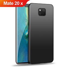 Funda Dura Plastico Rigida Mate para Huawei Mate 20 X Negro