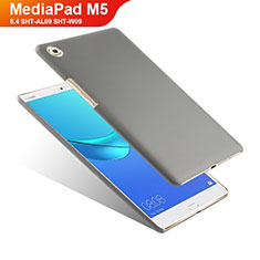 Funda Dura Plastico Rigida Mate para Huawei MediaPad M5 8.4 SHT-AL09 SHT-W09 Gris
