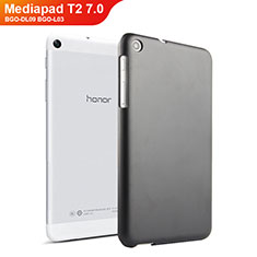 Funda Dura Plastico Rigida Mate para Huawei Mediapad T2 7.0 BGO-DL09 BGO-L03 Negro