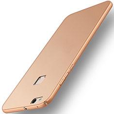Funda Dura Plastico Rigida Mate para Huawei P10 Lite Oro
