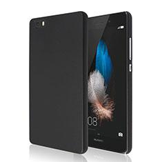 Funda Dura Plastico Rigida Mate para Huawei P8 Lite Negro
