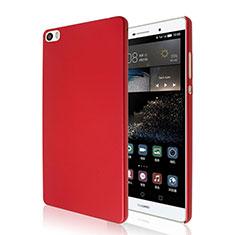 Funda Dura Plastico Rigida Mate para Huawei P8 Max Rojo