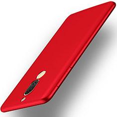 Funda Dura Plastico Rigida Mate para Huawei Rhone Rojo