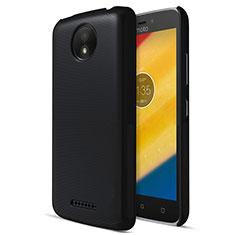 Funda Dura Plastico Rigida Mate para Motorola Moto C Plus Negro