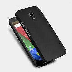 Funda Dura Plastico Rigida Mate para Motorola Moto G (2nd Gen) Negro
