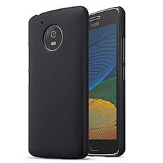 Funda Dura Plastico Rigida Mate para Motorola Moto G5 Negro