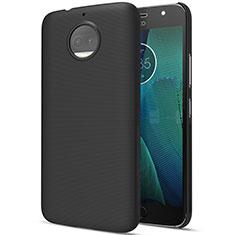 Funda Dura Plastico Rigida Mate para Motorola Moto G5S Plus Negro
