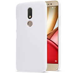 Funda Dura Plastico Rigida Mate para Motorola Moto M XT1662 Blanco