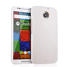 Funda Dura Plastico Rigida Mate para Motorola Moto X (2nd Gen) Blanco