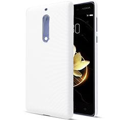 Funda Dura Plastico Rigida Mate para Nokia 5 Blanco