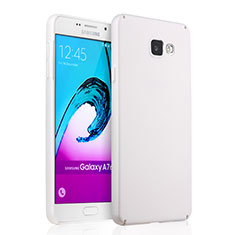Funda Dura Plastico Rigida Mate para Samsung Galaxy A7 (2016) A7100 Blanco