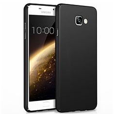 Funda Dura Plastico Rigida Mate para Samsung Galaxy A7 (2017) A720F Negro