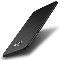 Funda Dura Plastico Rigida Mate para Samsung Galaxy A8 (2016) A8100 A810F Negro