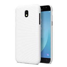 Funda Dura Plastico Rigida Mate para Samsung Galaxy J5 Pro (2017) J530Y Blanco
