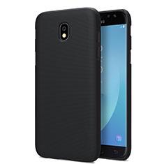Funda Dura Plastico Rigida Mate para Samsung Galaxy J7 Pro Negro