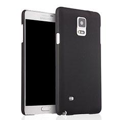 Funda Dura Plastico Rigida Mate para Samsung Galaxy Note 4 SM-N910F Negro