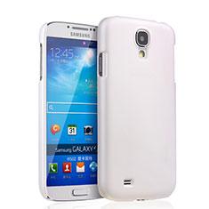 Funda Dura Plastico Rigida Mate para Samsung Galaxy S4 i9500 i9505 Blanco