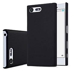 Funda Dura Plastico Rigida Mate para Sony Xperia X Compact Negro