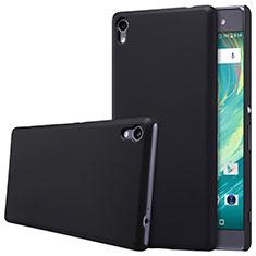 Funda Dura Plastico Rigida Mate para Sony Xperia XA Ultra Negro