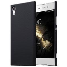 Funda Dura Plastico Rigida Mate para Sony Xperia XA1 Negro