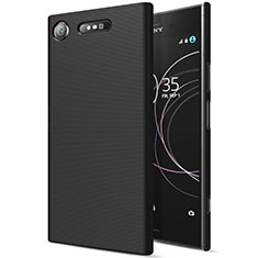 Funda Dura Plastico Rigida Mate para Sony Xperia XZ1 Negro